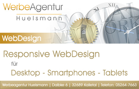 Werbeagentur Hülsmann: Webdesign - Grafik - Unternehmensfotografie - Tonstudio